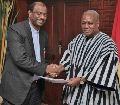 WGRK: Präsident John Dramani Mahama empfängt Delegation der Reformierten in Accra