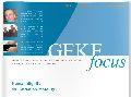 Der GEKE focus 6 (2/09) jetzt im Internet